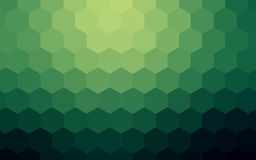 Предпосылка шестиугольников абстрактная красочная Стоковое Фото