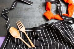 Предпосылка шеф-повара Стоковая Фотография RF