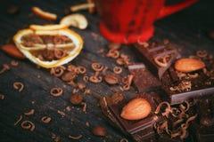 Предпосылка шоколадов Стоковые Фотографии RF