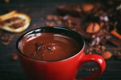 Предпосылка шоколадов Стоковые Изображения RF