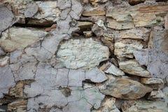 Предпосылка - штабелированная каменная стена Стоковое Фото