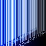 Предпосылка штрихкода Стоковое Изображение RF