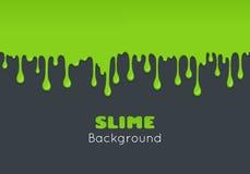 Предпосылка шлама зеленого цвета капли Стоковые Изображения RF