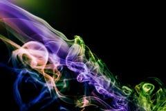 Предпосылка дыма абстрактная стоковые изображения rf