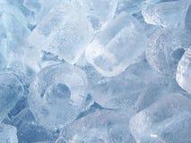 Предпосылка льда трубки Стоковая Фотография