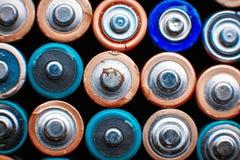 Предпосылка энергии абстрактная красочных батарей Стоковое Изображение RF