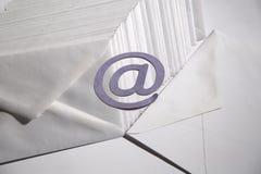 Предпосылка электронной почты Стоковые Фотографии RF