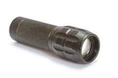 Предпосылка электрофонаря черным изолированная цветом Стоковая Фотография RF