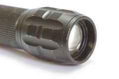 Предпосылка электрофонаря черным изолированная цветом Стоковая Фотография