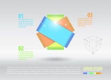 Предпосылка элемента infographic Стоковая Фотография