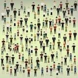 Предпосылка людей Стоковое Изображение