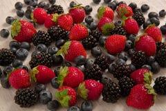 Предпосылка ягод лета Стоковые Изображения