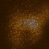 Предпосылка яркого блеска золота Стоковое фото RF