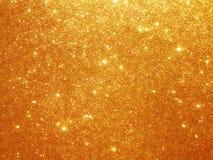 Предпосылка яркого блеска золота Стоковое Изображение