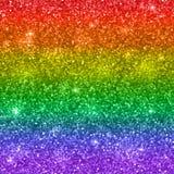 Предпосылка яркого блеска, цвета радуги, LGBT вектор Стоковая Фотография