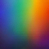 Предпосылка яркой радуги геометрическая красочных треугольников иллюстрация вектора