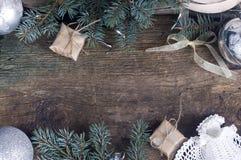 Предпосылка для приветствий рождества стоковые фотографии rf
