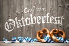 Предпосылка для Oktoberfest Стоковые Фото