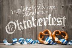 Предпосылка для Oktoberfest Стоковое фото RF