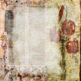 Предпосылка Scrapbook бумаги искусства Стоковые Изображения RF