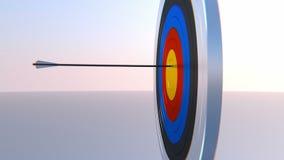 Предпосылка Archery оживленная видео- видеоматериал