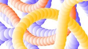 Предпосылка Asbtraktnye вплетенных труб Стоковые Изображения RF