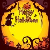 Предпосылка b хеллоуина Стоковая Фотография