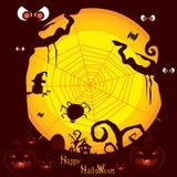 Предпосылка b хеллоуина Стоковое Изображение RF
