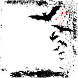 предпосылка bats halloween иллюстрация штока