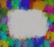 предпосылка blots краска Стоковые Изображения