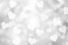 Предпосылка bokeh валентинки стоковое фото rf