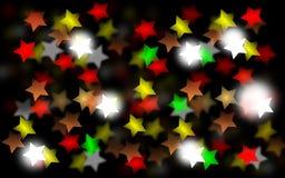 Предпосылка Bokeh звезды Стоковое Изображение RF