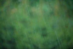 Предпосылка Bokeh дождя Стоковое фото RF