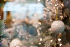 Предпосылка bokeh рождества Стоковое Изображение