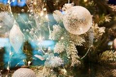 Предпосылка bokeh рождества Стоковая Фотография RF