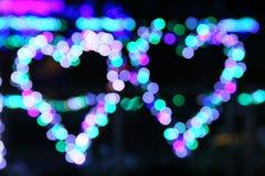 Предпосылка Bokeh светлая Стоковое Изображение RF