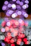 Предпосылка Bokeh, светлых и абстрактных Стоковое Изображение RF
