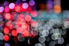 Предпосылка Bokeh, светлых и абстрактных Стоковое Изображение