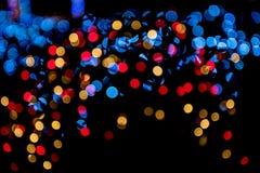 Предпосылка Bokeh, светлых и абстрактных Стоковое фото RF