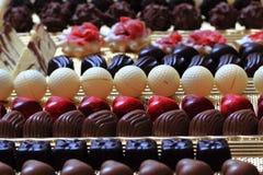 Предпосылка bonbons шоколада Стоковые Изображения RF