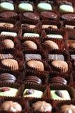 Предпосылка bonbons шоколада Стоковые Фотографии RF