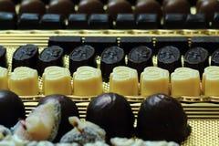 Предпосылка bonbons шоколада Стоковое Изображение