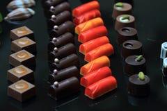 Предпосылка bonbons шоколада Стоковое Изображение RF