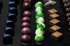 Предпосылка bonbons шоколада Стоковое Фото