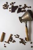 Предпосылка 02 Coffe и choco Стоковые Фотографии RF
