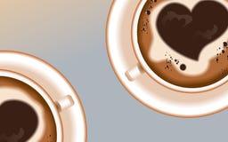 Предпосылка coffee4 Стоковое Изображение