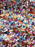 Предпосылка confetti масленицы Стоковая Фотография RF
