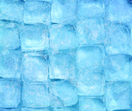 предпосылка cubes льдед Стоковое Фото