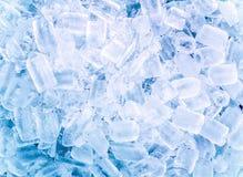 предпосылка cubes льдед Стоковые Изображения RF
