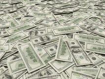 предпосылка 3d представляет счет доллар высокий представляет res Стоковая Фотография RF